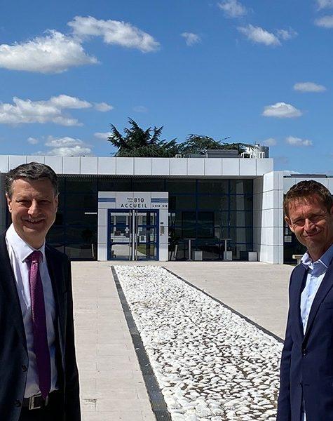 Gilles Lasserre et Stéphane Beaudet