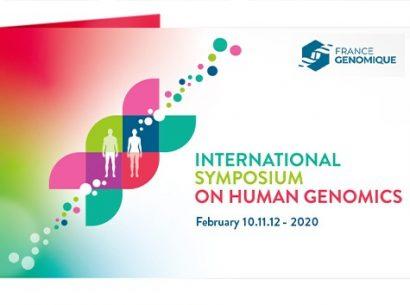 Symposium France Génomique sur la génomique humaine