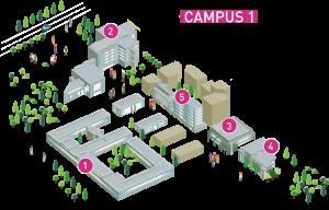 Genopole - Evry - Campus 1