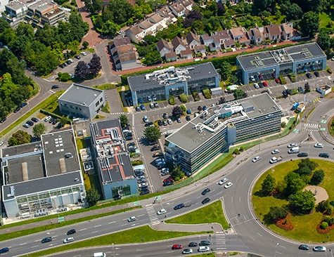 Genopole Campus 3 - Vue aérienne Evry