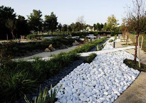 Les jardins de Genopole
