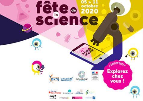 Fête de la science 2020 100% digitale