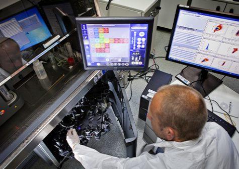 Préparation des échantillons sur la plateforme OCCIGEN