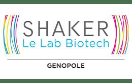 Logo Shaker Genopole Lab Biotech