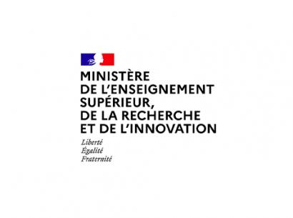 Ministère de l'enseignement supérieur, de la recherche et de l'innovation - logo