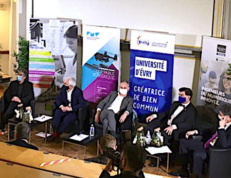 Voeux du campus evryéen Recherche & enseignement supérieur 2021