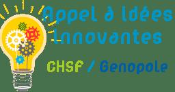 Appel à idées innovantes - CHSF/Genopole Logo
