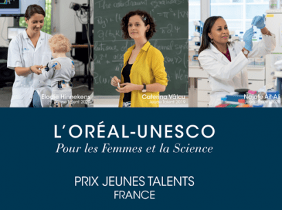 Jeunes talents - prix L'Oréal Unesco
