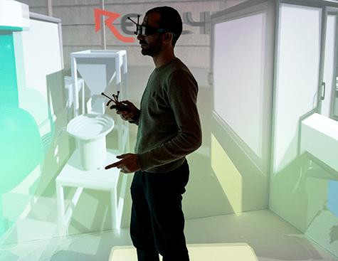 Plateforme Evr@ - Réalité virtuelle et réalité augmenté - ©Lionel Antony