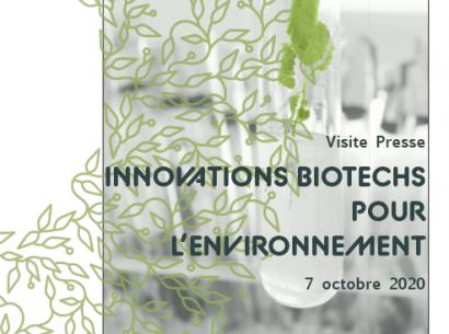 Dossier de Presse : Innovations Biotechs pour l'environnement
