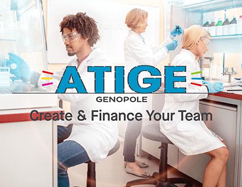 Programme ATIGE - Création et financement d'une équipe de recherche à Genopole